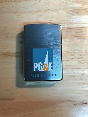 PG&E Pacific Gas and Electric Zippo Lighter