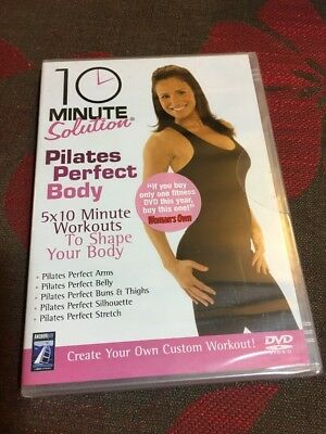 10 Minute Solution Pilates Perfect Body Genuine Factory Sealed  Uk Dvd
