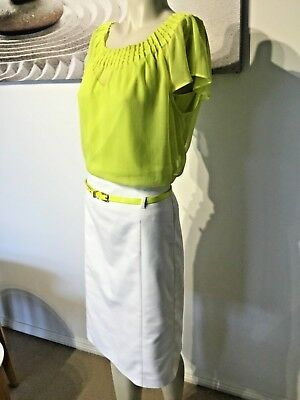 Basque skirt sz 10 (larger sz 10) and top sz 12 lovely cutfit lovely on in VGC