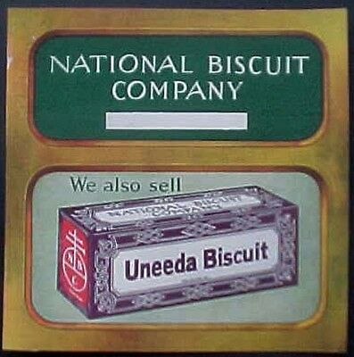From The Nbc Archives, Sample Uneeda Biscuit Label, National Biscuit Company