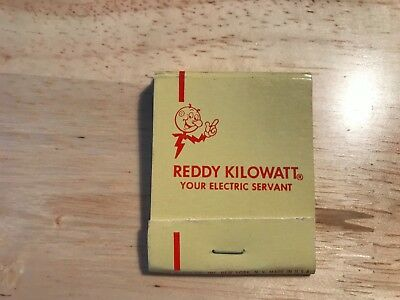 PG&E Pacific Gas and Electric Reddy Kilowatt Matchbook