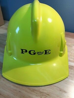 PG&E Pacific Gas and Electric Yellow Hard Hat