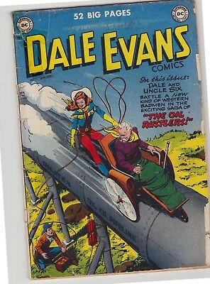 "Dale Evans, Queen of the Westerns #15 - February 1951 - ""The Oil Rustlers!"""