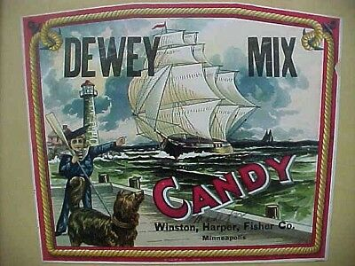 From The Nbc Archives, Sample Dewey Mix Candy, National Biscuit Company