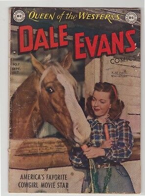 "Dale Evans, Queen of the Westerns #7 - October 1949 - ""Belles of Buffalo Wallow"""