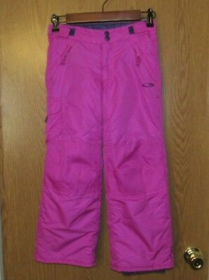 GIRLS Snowpants CHAMPION Purple Fusha WINTER SKI SNOW Boarding SIZE: 6-6X