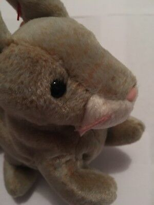 Ty Beanie Baby Nibbly the Rabbit 1999 MWMT