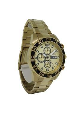 Invicta Specialty 1016 Men's Round Champagne Chronograph Date Analog Watch