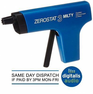 Milty Zerostat 3 Anti Static Gun for Vinyl Records LPs DVDs CDs