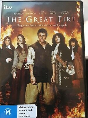 THE GREAT FIRE DVD UK Telemovie AS NEW! 1666 Great Fire of London