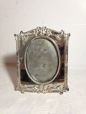 Antique Silver Plate Picture Frame~Lawrence B. Smith Co. Boston MA