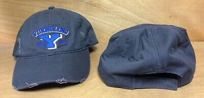 Yuengling Y Logo 1829 Hat Distressed Look BLUE Embroidered ~ OSFA ~ NEW & F/S