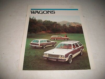 1978 Mercury Station Wagons Sales Brochure Catalog Clean No Dealer Stamp