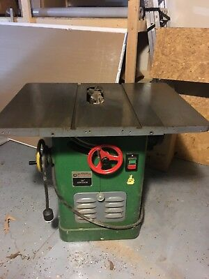 """Delta Rockwell 34-450 Unisaw 10"""" Table Saw 2HP 230 Single Phase"""