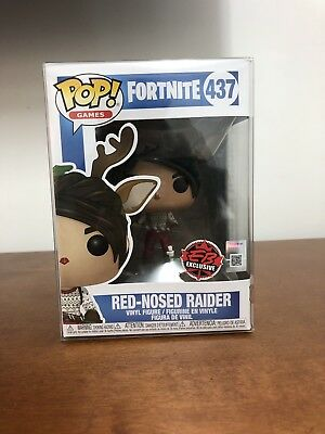 Funko Pop! Games Fortnite #437 Red-Nosed Raider EB Games Exclusive MINT 10/10