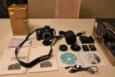 Nikon D5200 18-105mm VR - Pre-owned, Excellent Condition, In Original Box