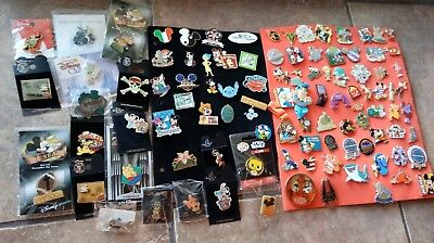 Disney Trading Pin lot Set of 100,authentic,real pins. Personal collection