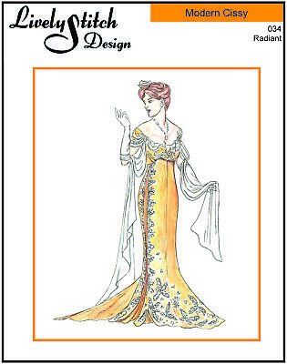 "sewing pattern for the 21/"" Modern Cissy by Madame Alexander Intrigue"