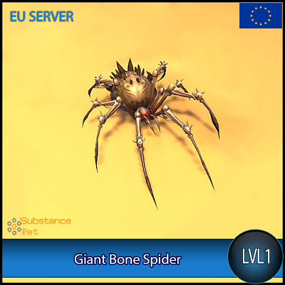 Giant Bone Spider lvl1 Pet | All Europe Server | WoW Warcraft Tier Loot