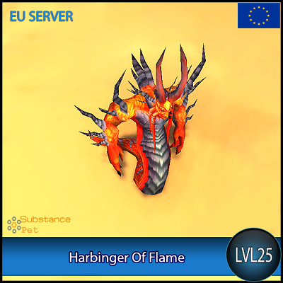 Harbinger Of Flame lvl25 Pet   All Europe Server   WoW Warcraft Tier Loot
