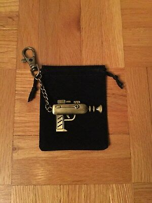 Rick and Morty Rick Laser Gun 1 Sided Keychain