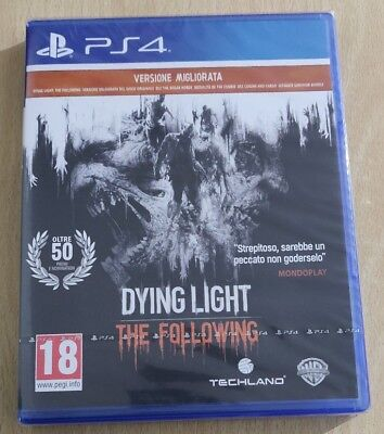Ps4 Dying Light The Following Vers. Migliorata Playstation 4 Sigillato Italiano