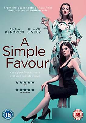 A Simple Favour  with Blake Lively New (DVD  2018)
