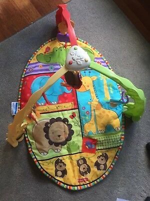 Fisher Price - Animal musical Activity Gym / Baby play mat