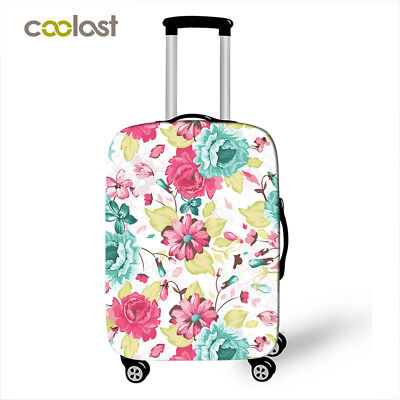 Cute Girl Travel Trolley Case Luggage Cover 18-28 inch Suitcase Dust Cover Case