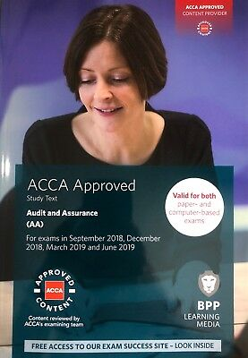 ACCA Audit and Assurance: Study Text by BPP Learning Media (Paperback, 2019)
