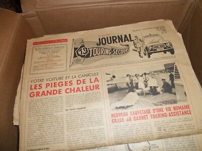 Anciens magazines Touring secours 1974-1983
