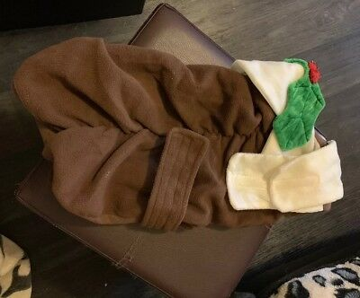 Pet Christmas Pudding Outfit