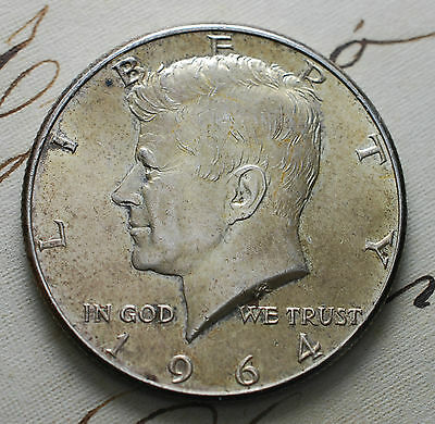 1964 UNITED STATES Kennedy Half dollar