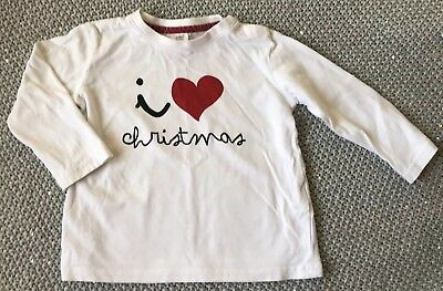 Boys Christmas Top Size 12-18 Month From Zara