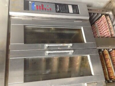BAXTER gas mini rotating steam injection rack oven
