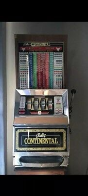 Authentic 1969 Bally Continental Slot Machine