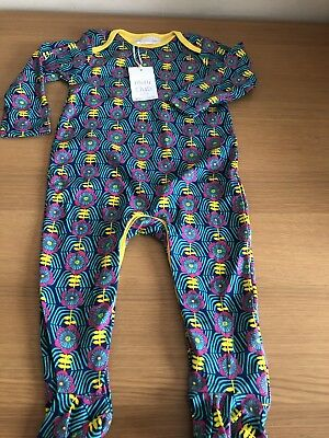 Baby Girl Boots Mini Club Floral Sleepsuit 12-18 Months