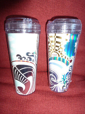 Royal Caribbean drinks package _ 2x cups for soft drinks from 2018 cruise BNWOB