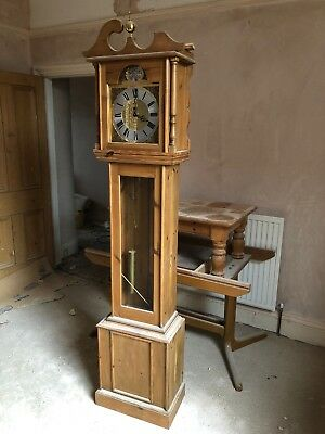 Bruised And Electric longcase grandfather clock 2 Metres Tall Collection Only