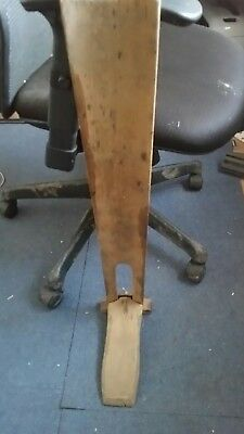 Antique Wooden Foot Brace