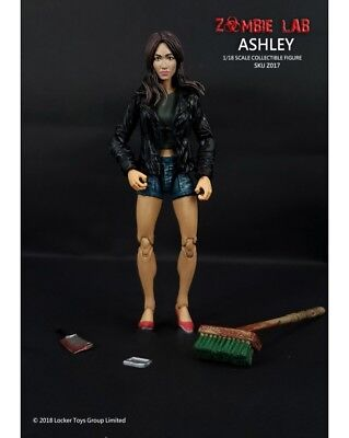 1/18 FIGURE - ZOMBIE LAB Parts Interchangeable- (017) ASHLEY (2019) Free Ship