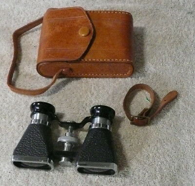 VINTAGE OPERA GLASSES/ BINOCULARS (OFUNA, MADE ON JAPAN.) CLEAN.  3x10 w/ CASE