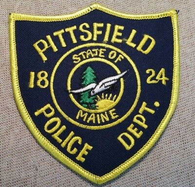 ME Pittsfield Maine Police Patch