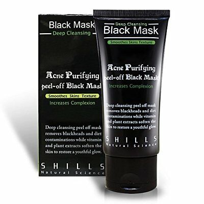 50ml Blackhead Purifying Remover Peel Off Facial Cleaning Black Face Mask 50g