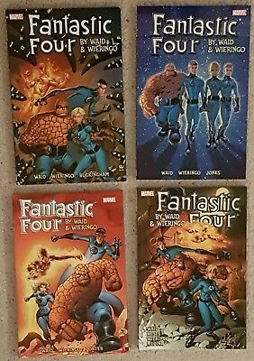 Fantastic Four by Waid & Wieringo Ultimate Collections (Books 1-4) (Rare, OOP)