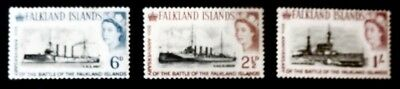Falklands 1964 QEll 50th Anniv of the Battle of the Falklands M/Mint (4)