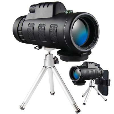 Monocular Telescope, 40x60 High Powered Monocular with Smartphone Adapter
