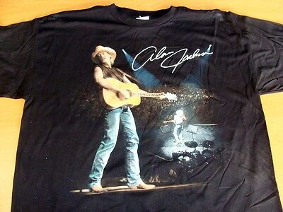 Alan Jackson Live Vintage 1997 Tee Shirt XL Adult Size brand new with tags