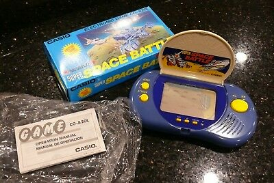 Casio SPACE BATTLE  LCD ✨RARE✨ Vintage Electronic Tabletop Handheld  Video Game