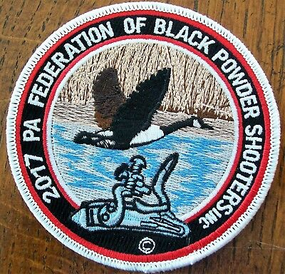 Pa Penna. Game  Commission  Patch 2017  Canadian Goose  Black Powder Shooters
